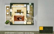 Apartament de vânzare cu o cameră, Baza 3