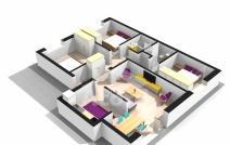 Apartament de vânzare cu 4 camere, Pacurari