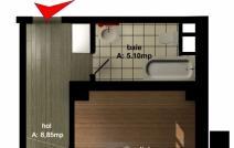 Apartament de vânzare cu o cameră, Tudor Vladimirescu