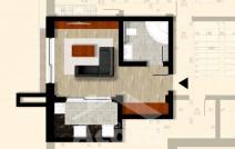 Apartament de vânzare cu o cameră, Bucium
