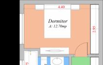 Apartament de vânzare cu 2 camere, Popas Pacurari