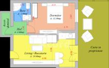 Apartament de vânzare cu 3 camere, Popas Pacurari