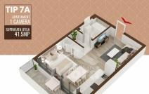 Apartament de vânzare cu o cameră, Copou