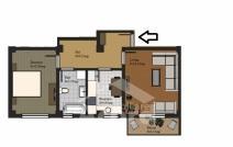 Apartament de vânzare cu 2 camere, Rediu