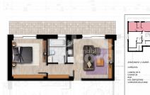 Apartament de vânzare cu 2 camere, Bucium